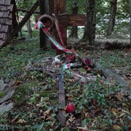 9. Német katona sírja Hollóstetőn